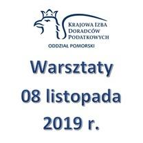 Zaproszenie na warsztaty - 8 listopada 2019 r.