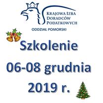 Szkolenie 06-08 grudnia 2019 r.