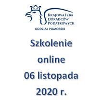 Szkolenie Online - 6 listopada 2020 r.
