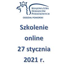 Szkolenie Online - 27 stycznia 2021 r.