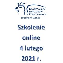 Szkolenie Online - 4 lutego 2021 r.