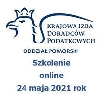 Szkolenie online 24 maja 2021 rok